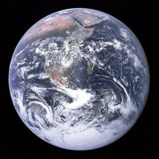 A Kék Bolygó az Apollo-17-ről fényképezve